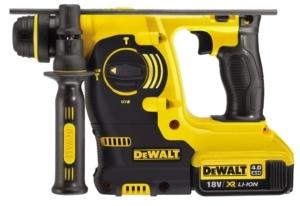 Dewalt Set DCK699M3T 3x 4,0 Ah / 18 V / 6-teilig Dewalt Akku-Bohrhammer DCH253 SDS