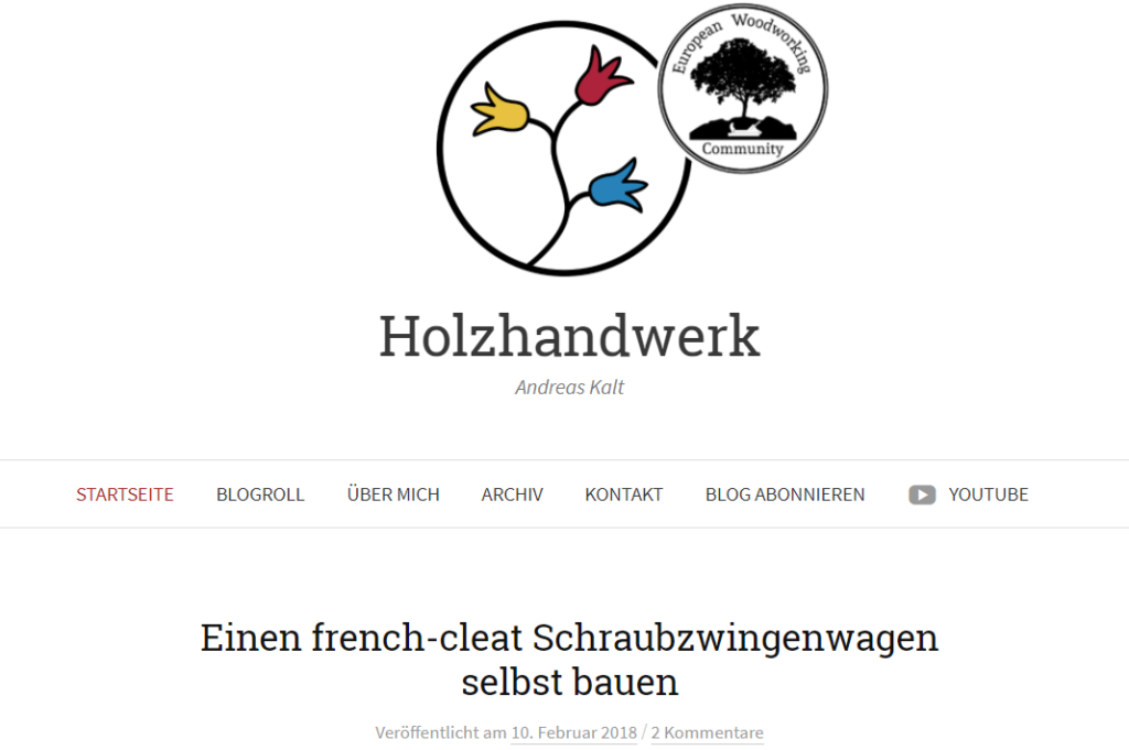 Blog-Interview - Holzhandwerk - Andreas Kalt