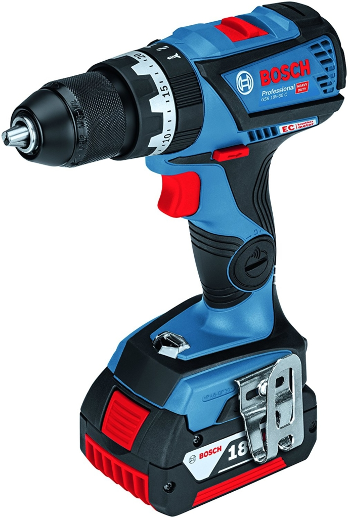 Bosch Professional GSB 18V-60 C 2x 5,0 Ah | max. 60 Nm