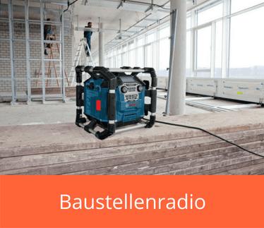 Baustellenradio kaufen auf akkuschrauber-expert.de