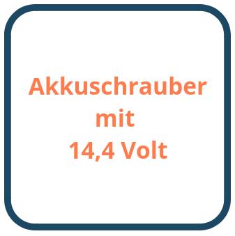 Akkuschrauber mit 14,4 Volt
