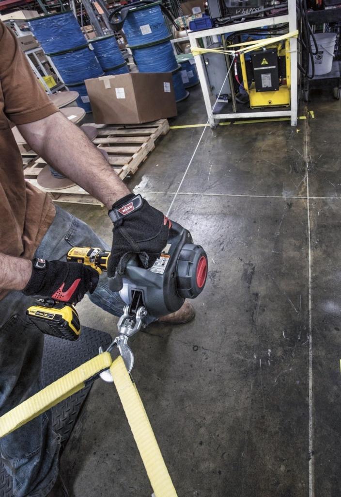 Akkuschrauber Seilwinde WARN Drill Winch 226 kg 500 lbs Zugkraft