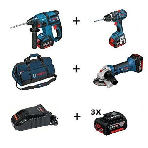 Bosch Professional 18 Volt Akkubohrhammer und Akkubohrschrauber Set