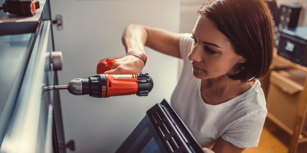 Akkuschrauber für Frauen - klein, leicht und kompakt